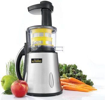 Bella 13695 NutriPro Cold Press Juicer