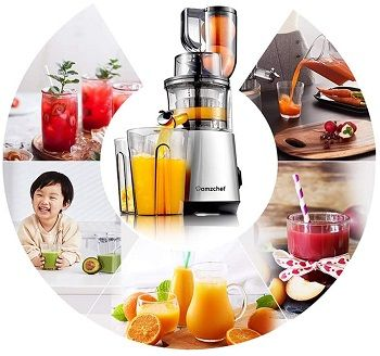 Amzchef Slow Vertical Masticating Juicer review