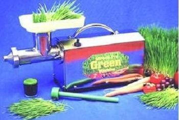 Miracle Pro Green Machine Wheat Grass Juicer review