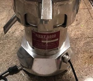Ruby 2000 Commercial Juicer review
