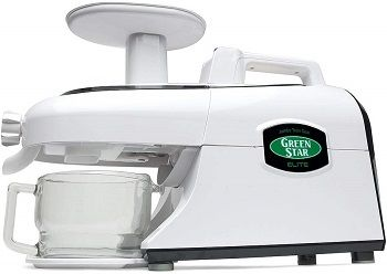 Tribest GSE-5000 Greenstar Elite Cold Press Complete Masticating Juicer review