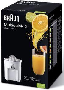 Braun MPZ22 Citromatic Deluxe Citrus Juicer review