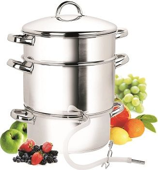 Cook N Home NC-00256 Juicer Steamer